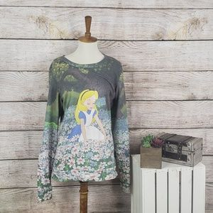 Disney Alice in Wonderland Long Sleeve Sweatshirt